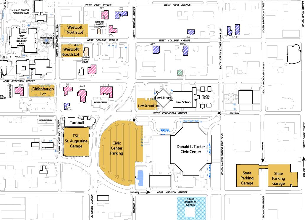 Fsu Parking Map FSU Graduation